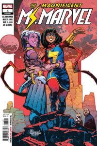 Magnificent Ms. Marvel #4, NM (Stock photo)