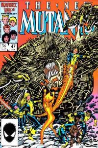 New Mutants (1983 series) #47, VF+