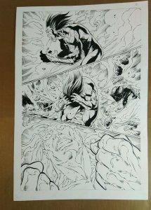 Eddy Barrows - Original Comic Art - Genecy #1 Page 32