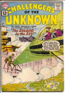Challengers of The Unknown #23 1961-DC-Island In The Sky-VG