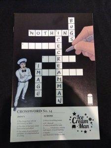 Ice Cream Man #14 SPECIAL BLACK & WHITE CROSSWORD VARIANT COVER