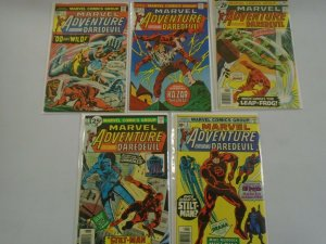 Marvel Adventure featuring Daredevil run #2-6 avg 6.0 FN (1976)