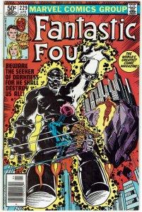 Fantastic Four #229 (1961 v1) Bill Sienkiewicz Newsstand VF+