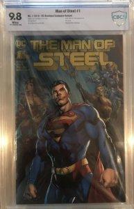Man of Steel #1 CBCS 9.8 DC Boutique Gold Foil Variant