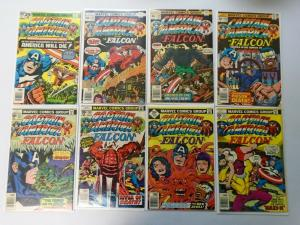 Bronze Age Captain America Comic Lot From:#200-250, 31 Diff Avg 6.0/FN (1976-80)