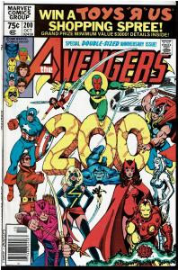 Avengers #200, 9.0 or Better *KEY Controvertial Issue* Carol Danvers Raped (4)