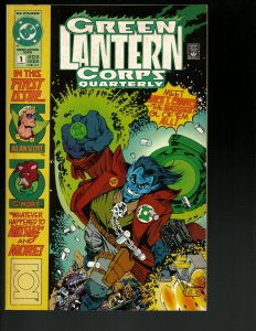 8 Green Lantern DC Comics Corps Quarterly 1 50 Corps 1(2) 2(3) Recharge 1 J402