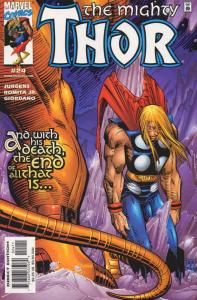 Thor (Vol. 2) #24 VF/NM; Marvel | save on shipping - details inside