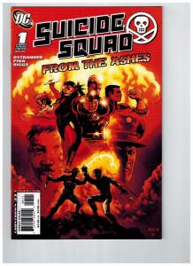 Suicide Squad From The Ashes # 1 NM 1st Print DC Comic Book Bullseye Ca Cold KS7