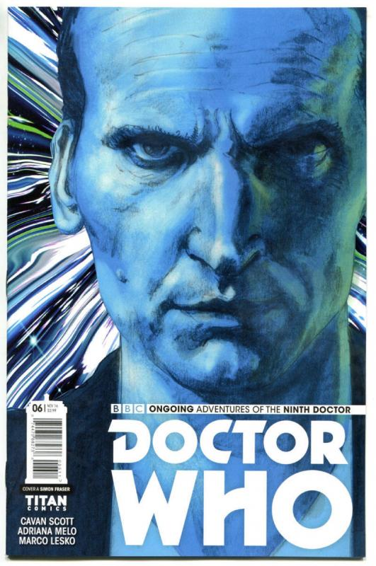 DOCTOR WHO #6 A, NM, 9th, Tardis, 2016, Titan, 1st, more DW in store, Sci-fi