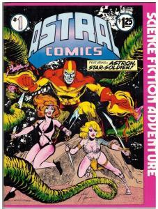 ASTRAL COMICS 1 (SUMMER 1977) VF PROZINE: BUCKLER LEA