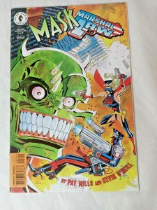 The Mask Marshal Law #2 - Dark Horse Comics 1998 Pat Mills, Kevin O'Neill NM