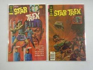 Star Trek #26+52 4.0 VG (1974+78 Gold Key)