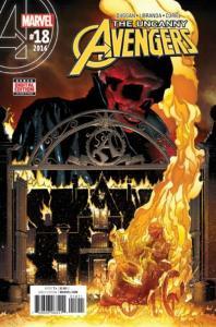 Uncanny Avengers (Dec 2015 series) #18, NM (Stock photo)