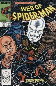 Web of Spider-Man, The #55 VF/NM; Marvel   save on shipping - details inside