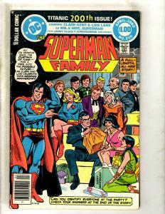 Superman Family # 200 FN DC Comic Book SIGNED Julius Schwartz Batman Lois J371
