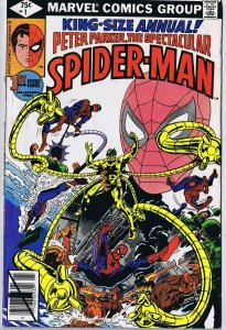 Spectacular Spider-Man Annual #1 ORIGINAL Vintage 1979 Marvel Comics