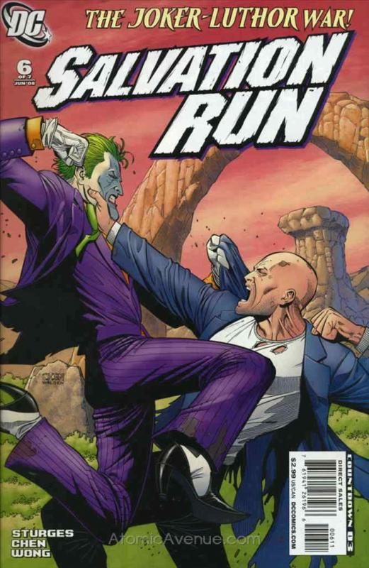 Salvation Run #6 VF/NM; DC | save on shipping - details inside