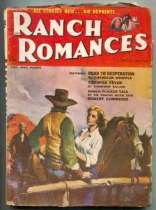 Ranch Romances Pulp 1st April 1953- Road To Desperation