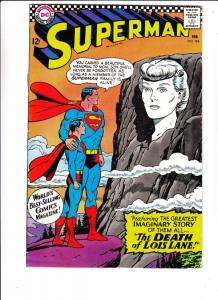 Superman #194 (Feb-67) FN/VF Mid-High-Grade Superman, Jimmy Olsen,Lois Lane, ...