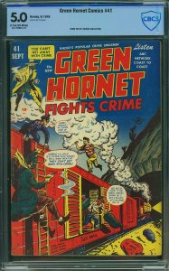 Green Hornet #41 (Harvey, 1948) CGC 5.0