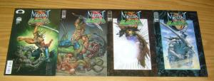 Stan Winston's Mutant Earth #1-4 VF/NM complete series - simon bisley chronicles
