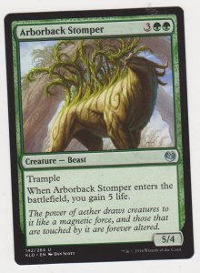 Magic the Gathering: Kaladesh - Arborback Stomper