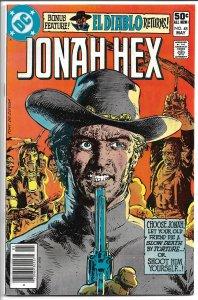 Jonah Hex #48 - Bronze Age - (VF-) May, 1981