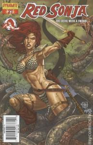 Red Sonja #21 (Dynamite) - Joe Prado Cover