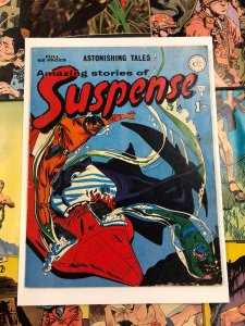 Amazing Stories of Suspense #67 VF- 7.5 astonishing tales APPROVED COMIC english