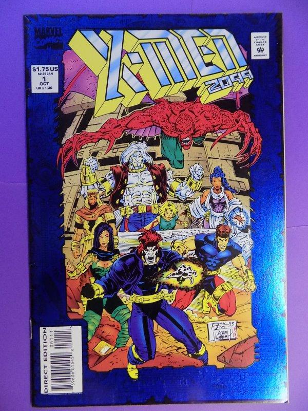 X-MEN 2099 # 1 BLUE FOIL COVER