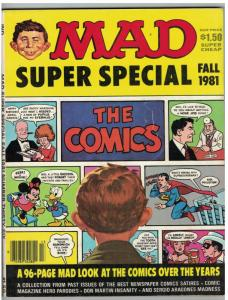 MAD SPECIAL (1981) 36 VG-F  spoofs Comics 96 pp classic