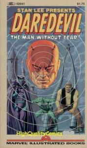 DAREDEVIL Pb, NM, Wally Wood,1st, 1982, Stiltman, Sam Rosen, Fellowship of Fear