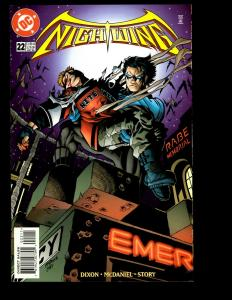 12 Nightwing DC Comics #22 24 25 26 27 28 29 30 31 32 33 24 Batman Superman GK10