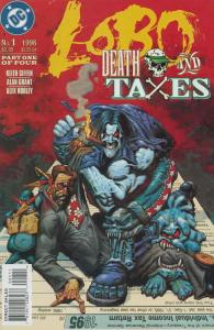 Lobo: Death and Taxes #1 VF/NM; DC   save on shipping - details inside