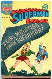 Superman Supacomic #179- Australian comic- Kal-el Krypton VG/F