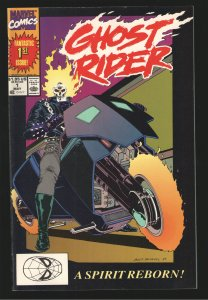 GHOST RIDER 1 1990 NM 9.0-9.8 UNREAD WAREHOUSE COPY (plus free #3 and #5) HOT!!