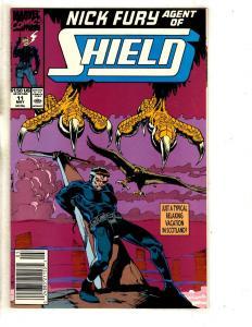 10 SHIELD Marvel Comic Books # 11 12 13 14 15 16 17 18 19 20 Nick Fury CR49