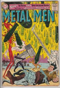 Metal Men #1 (Apr-63) VG+ Affordable-Grade Metal Men (Led, Tina, Tin, Gold, M...
