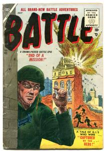 BATTLE #41-1955-WAR STORIES-GENE COLAN ART-vg minus