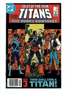 Tales Of The Teen Titans # 44 NM DC Comic Book 1st Nightwing Appearance KEY SR1