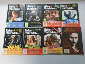 Video Watchdog lot 8 different including Special Edition avg 6.0 FN (1993-98)