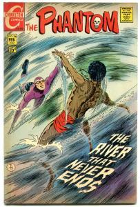 THE PHANTOM #36 1970-CHARLTON COMICS-DROWNING-APARO ART FN