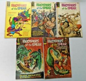 Brothers of the Spear lot 9 different books 4.0 VG (1972)