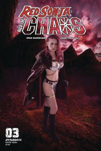 Red Sonja Age Of Chaos #3 Cvr E Kingston Cosplay Variant (Dynamite, 2020) NM