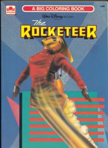 Rocketeer Color Activity Book #2968 1980's-Gordon-Dave Stevens-VF