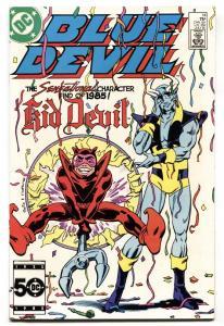 Blue Devil #14-1985-First appearance of KID DEVIL-comic book