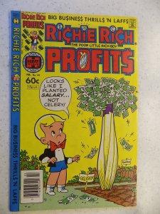 RICHIE RICH PROFITS # 44 HARVEY CARTOON ADVENTURE FUNNY