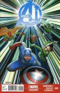 Avengers A.I. #9 FN; Marvel   save on shipping - details inside