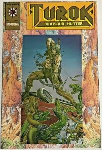TUROK DINOSAUR HUNTER#1 NM 1993 GOLD EDITION VALIANT COMICS